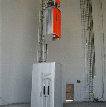 想买高品质的烟筒电梯就来宁夏盛世鸿远电梯 固原烟筒电梯