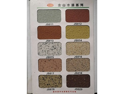 焦作真石漆厂家 金山更优质 解决真石漆分格技术难题