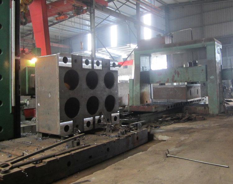 液压机机架焊接加工服务