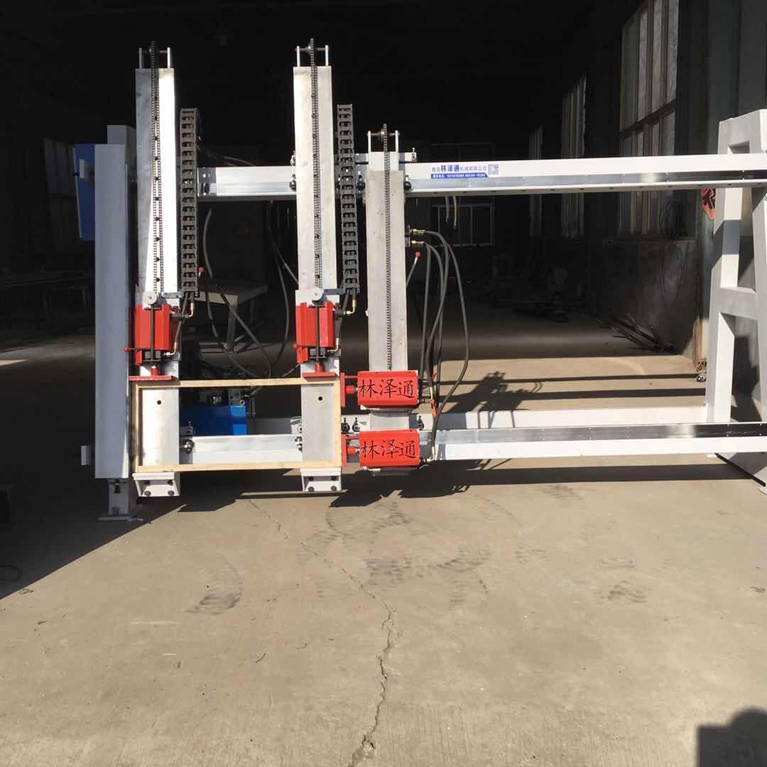 专业的单面油压实木门组拼机 规格尺寸可定制