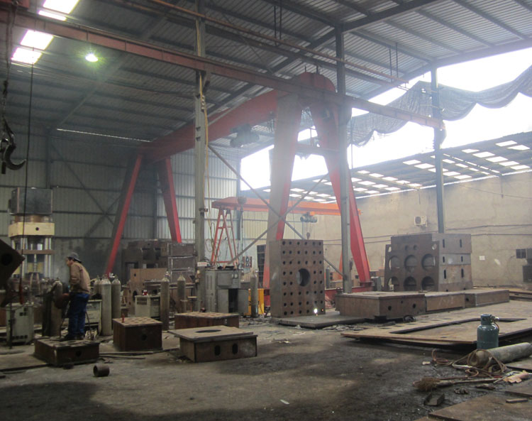 河南焊接对外加工_服务好的液压机架焊接对外加工提供商