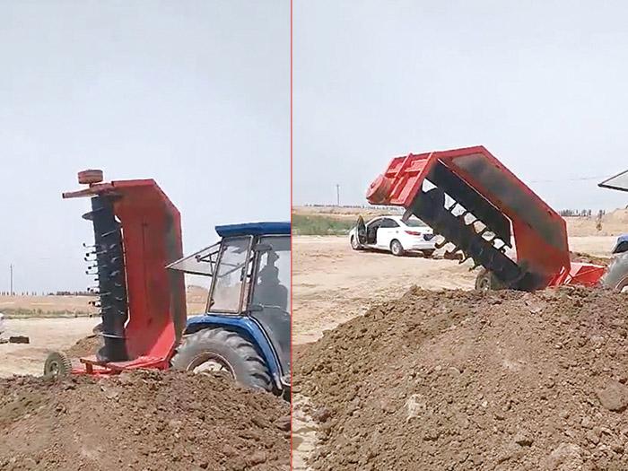 厦门翻堆机_宁夏智源农业供应高质量的银川翻堆机