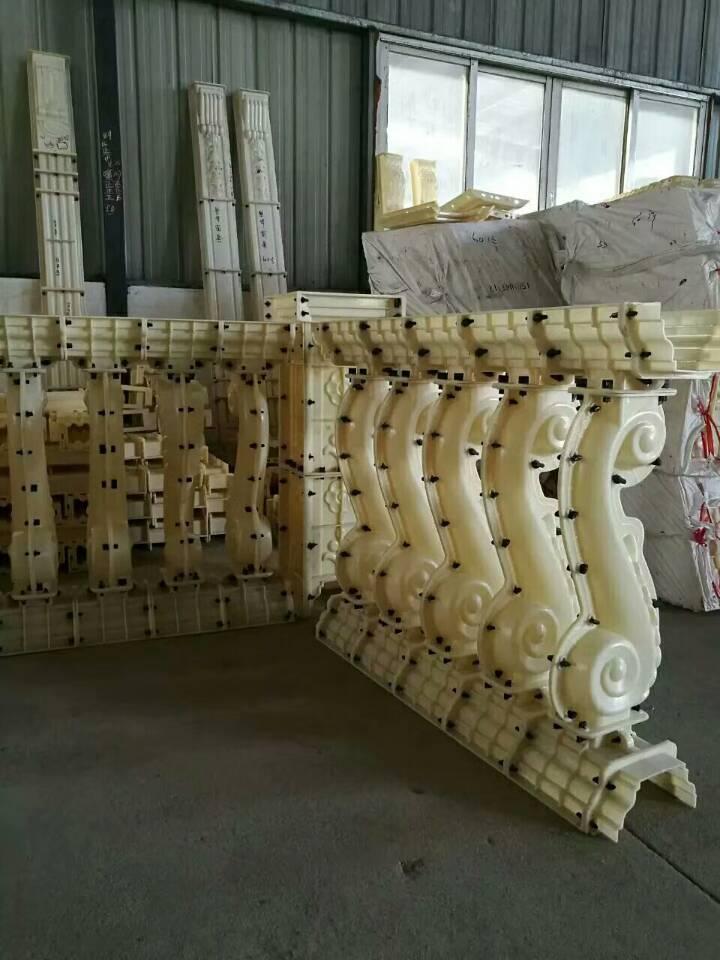 现浇花瓶柱模具水泥构件模具厂家海马花瓶柱模具阳台围栏模具