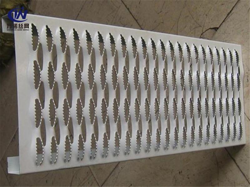 不锈钢鳄鱼嘴防滑梯子板--万诺丝网