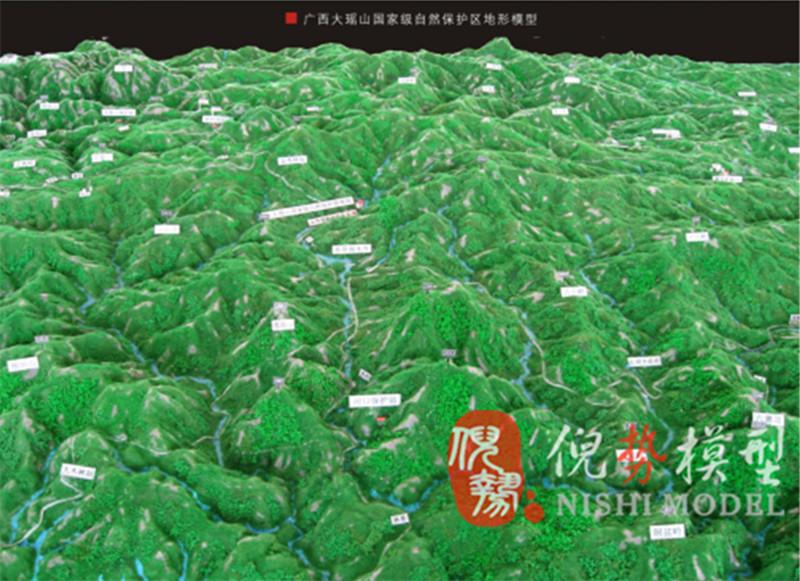 柳州地形地貌模型|广西地形地貌模型制作找哪家比较好