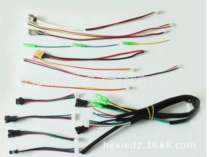 供应电暖桌内部连接线束