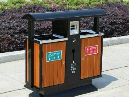 铸铝垃圾箱定制-西安报价合理的垃圾桶要到哪买
