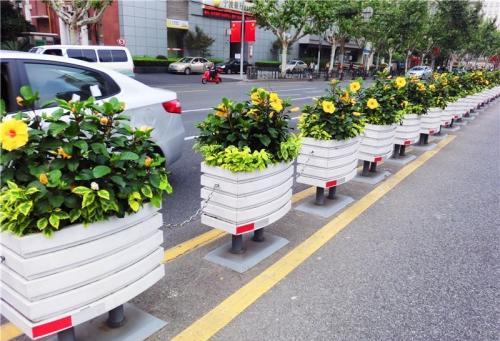 西安塑木花箱