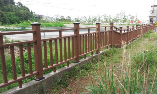 宁夏凉亭厂家-西安实惠的塑木护栏价格