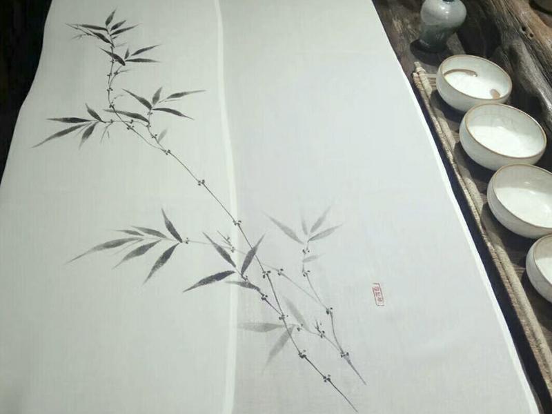 广州服装手绘设计公司/专业服装喷绘案例/致美手绘厂