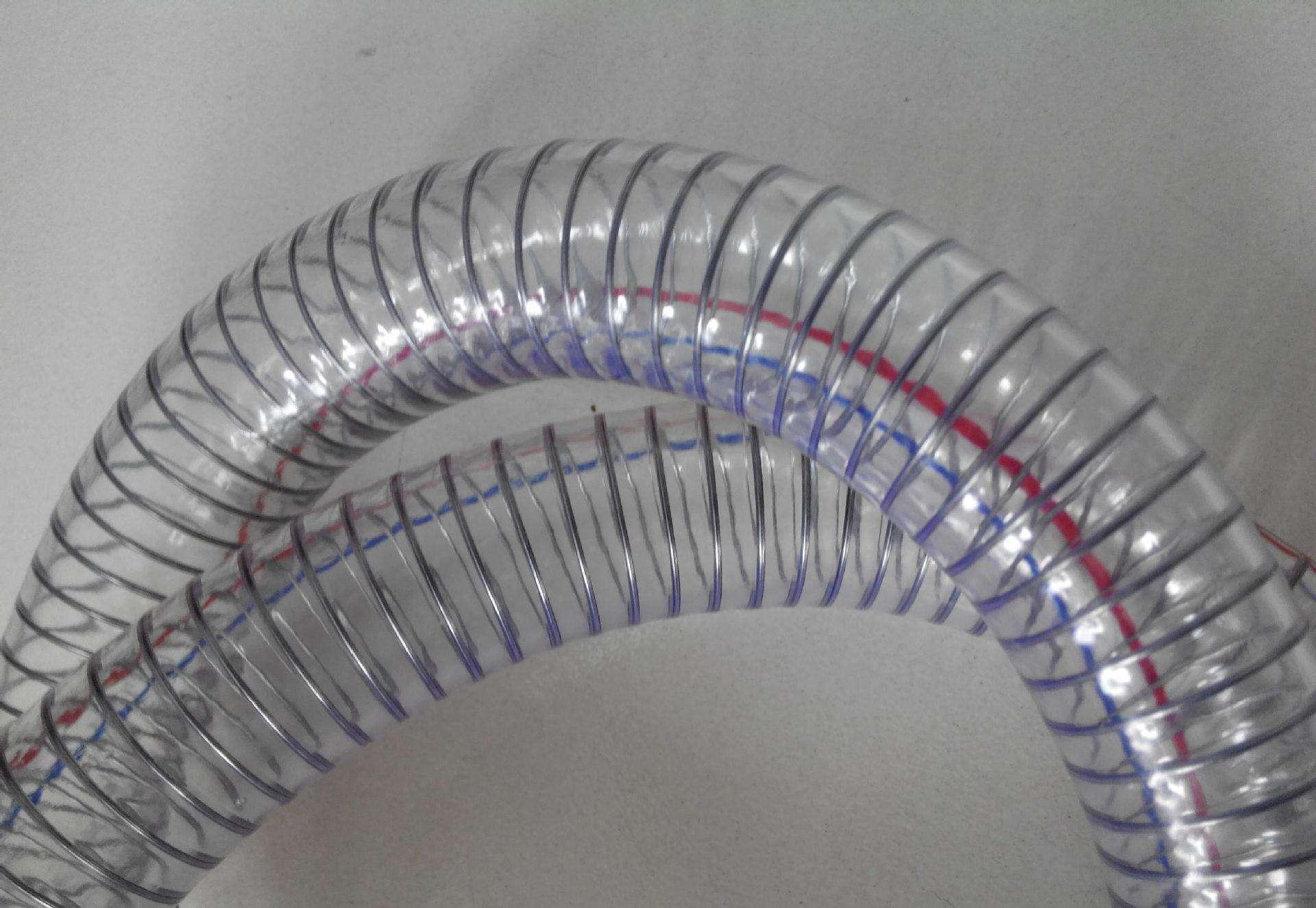 【好货!有木有】透明耐磨耐低温软管-透明增强排水软管-新世纪