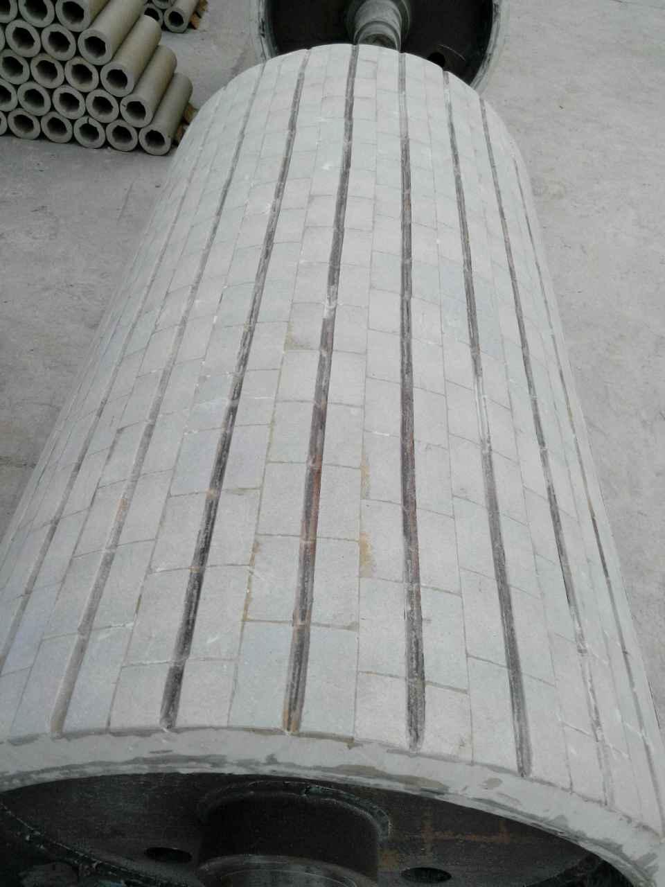 耐磨滚筒包胶厂家直销|耐磨滚筒陶瓷包胶价格与质量