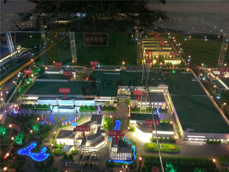 崇左工业建筑模型制作_广西厂区规划模型制作公司