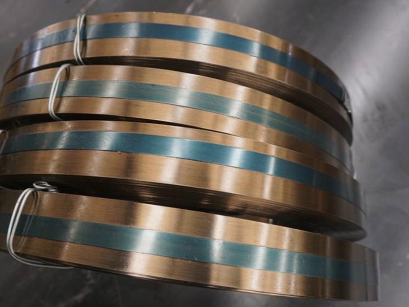 济宁钢带厂家|诚挚推荐销量好的烤黄钢带