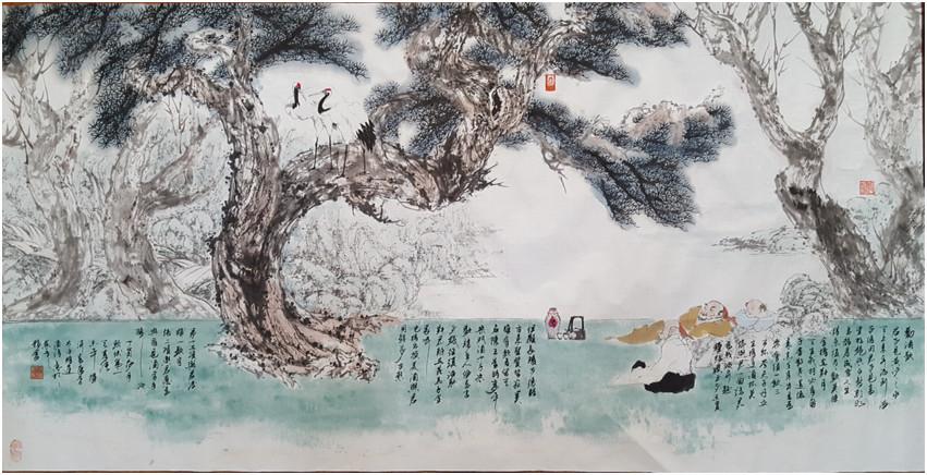 水墨山水画|浙江超值的山水画