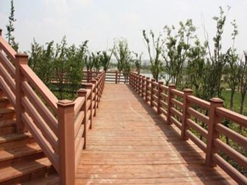 仿木紋塑木扶手定做-物超所值的天水棧道推薦