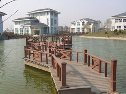 西安塑木护栏定制厂家|供应西安优惠的天水栈道