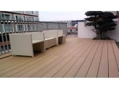 ASA共挤塑木地板定做-质量好的酒泉塑木地板销售