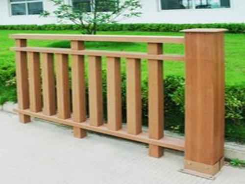 酒泉PVC木纹扶手价格_志诚塑木提供的酒泉塑木护栏怎么样