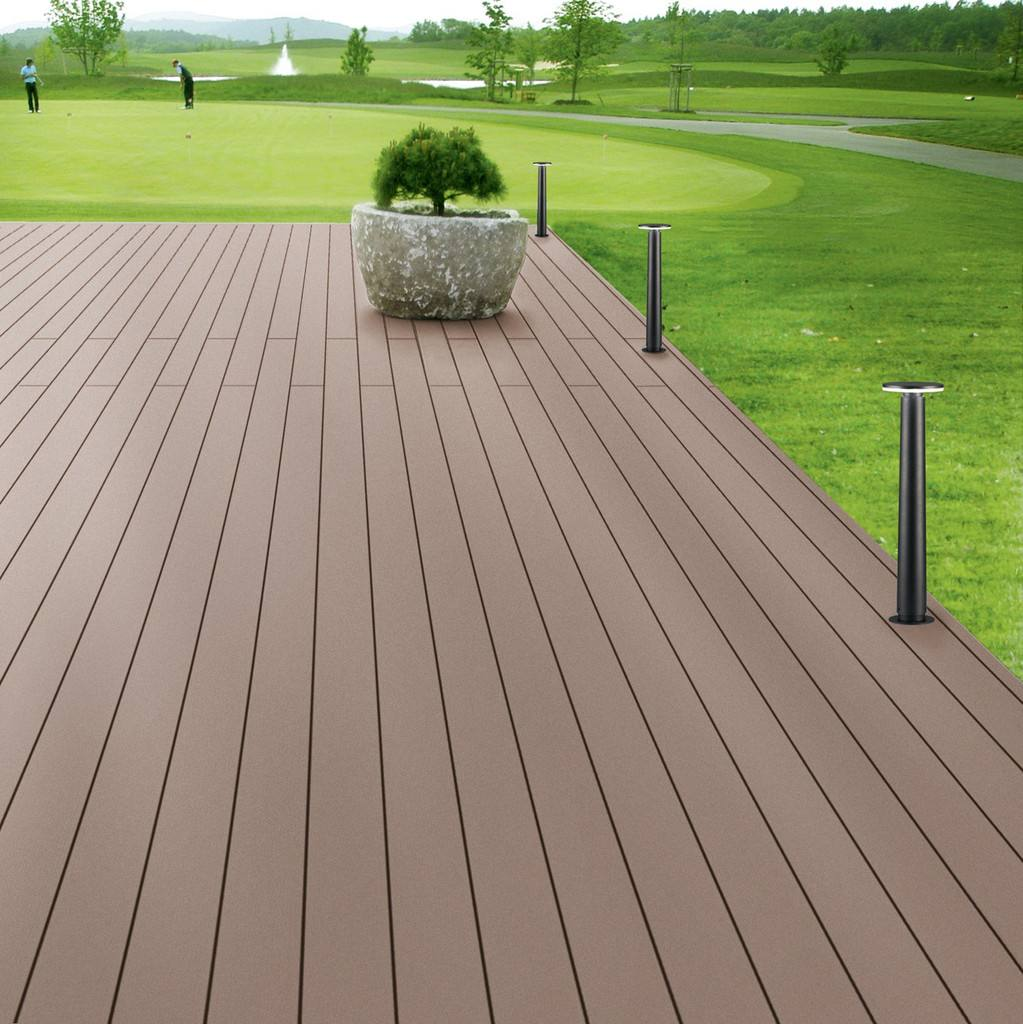 木塑地板定做-大量出售超值的榆林塑木地板
