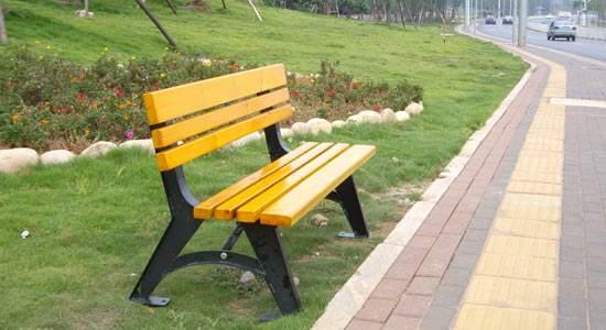 榆林園林座椅定做-物超所值的榆林公園椅誌誠塑木供應