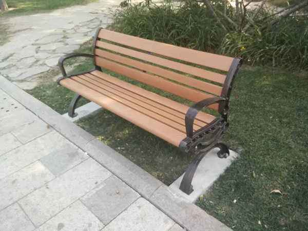 榆林公园椅子定做-力荐志诚塑木超值的榆林公园椅