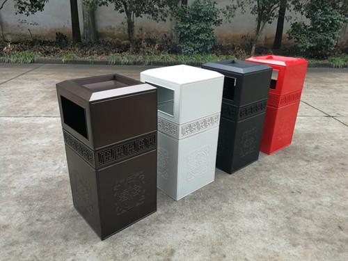 庆阳LED太阳能果皮箱价格-有品质的庆阳垃圾箱在哪可以买到