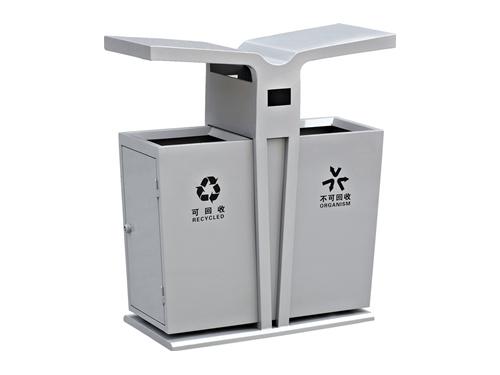 西安太阳能广告灯箱定制|西安口碑好的绵阳垃圾桶推荐