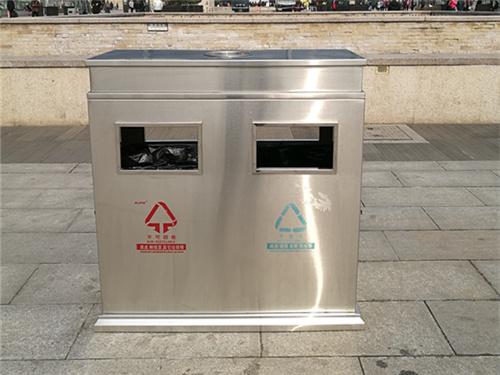 绵阳太阳能广告灯箱定制|志诚塑木做工精细的绵阳垃圾桶