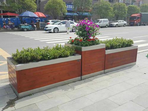 西安护栏隔离花箱定做-志诚塑木出售划算的庆阳花箱