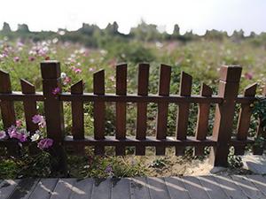 汉中凉亭厂家_志诚塑木口碑好的汉中塑木护栏供应