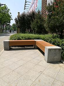 安康围树椅定做|力荐志诚塑木超值的安康公园椅