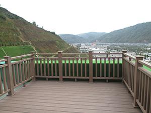 安康仿木纹塑木扶手厂家-西安口碑好的安康塑木护栏供应