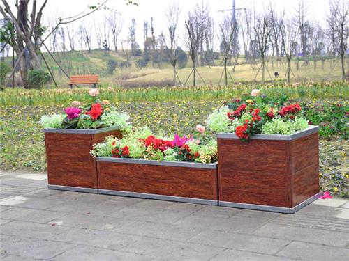 木塑花箱多少钱-口碑好的鄂尔多斯花箱哪里有