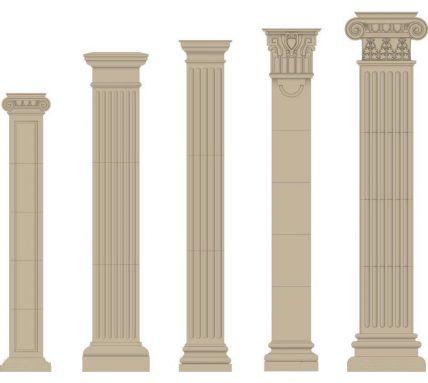 广西GRC罗马柱-的广西GRC罗马柱构件厂家