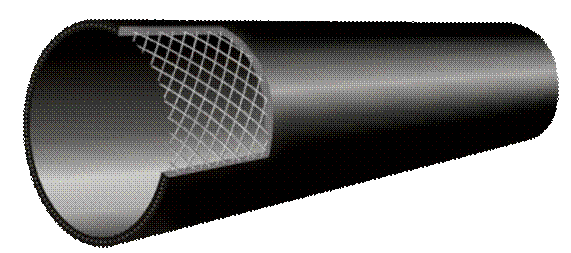 济南3PE钢管-东宏管业供应好的给水用钢丝网骨架塑料聚乙烯复合管材