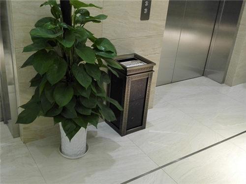 太原仿大理石果皮箱定制_志诚塑木专业提供太原垃圾桶
