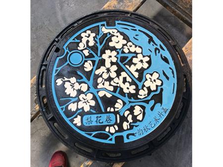 黑河艺术井盖_上哪买优惠的艺术井盖