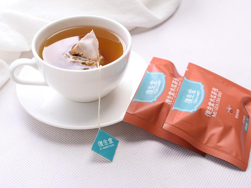 男士适合喝什么养生茶-泉州哪里有口碑好的復生堂木瓜茶包供应