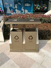 洛阳不锈钢垃圾桶定做_新款的洛阳垃圾桶就在志诚塑木