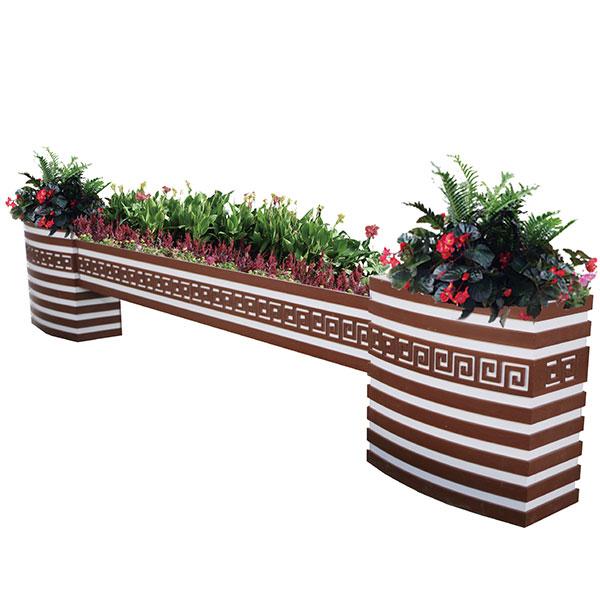 四川木塑花箱价格-志诚塑木供应实惠的成都花箱