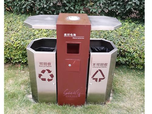 鄭州塑料垃圾桶定制-供應陜西鄭州垃圾箱質量保證