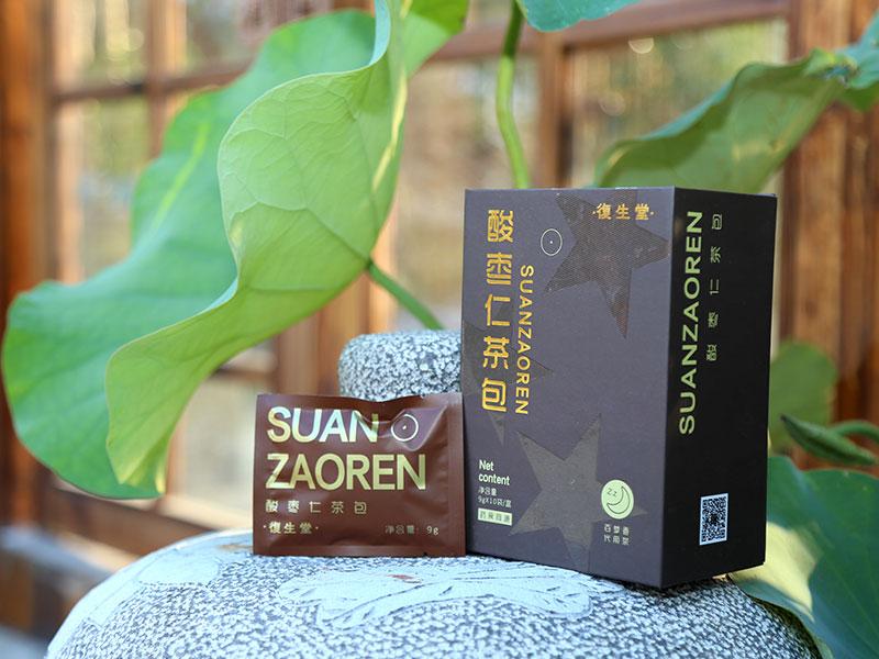改善睡眠茶饮厂商代理|泉州划算的復生堂酸枣仁茶包批售