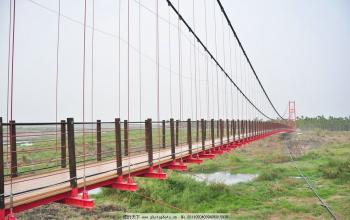 巴中钢索吊桥厂家-专业供应钢索吊桥