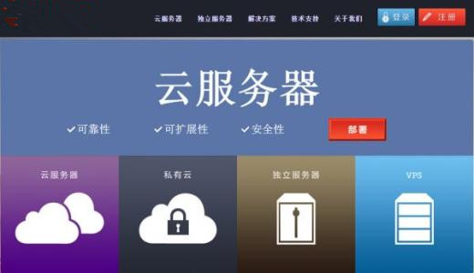 香港云服务器租用托管