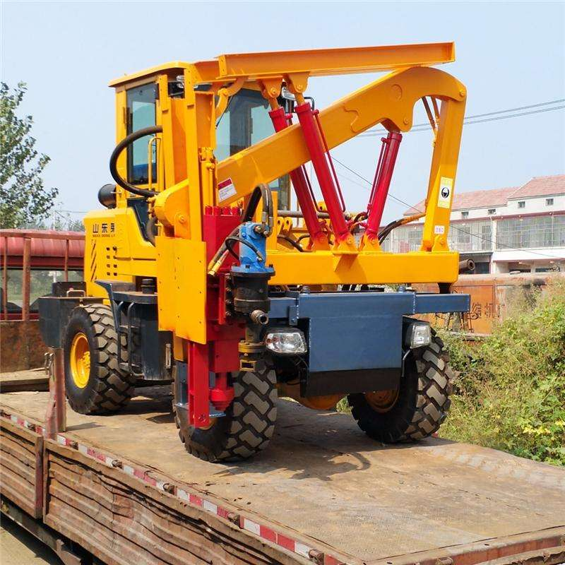 梁平县高质量的渝工护栏打桩机出售-山东护栏打桩机批发价格