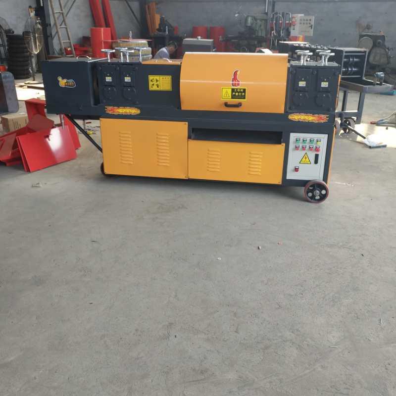 泸州钢管调直机-增福机械高性价钢管调直除锈刷漆一体机出售