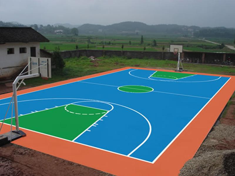上海硅PU球场厂家_要买安全可靠的硅PU球场,当选庭久体育场地工程