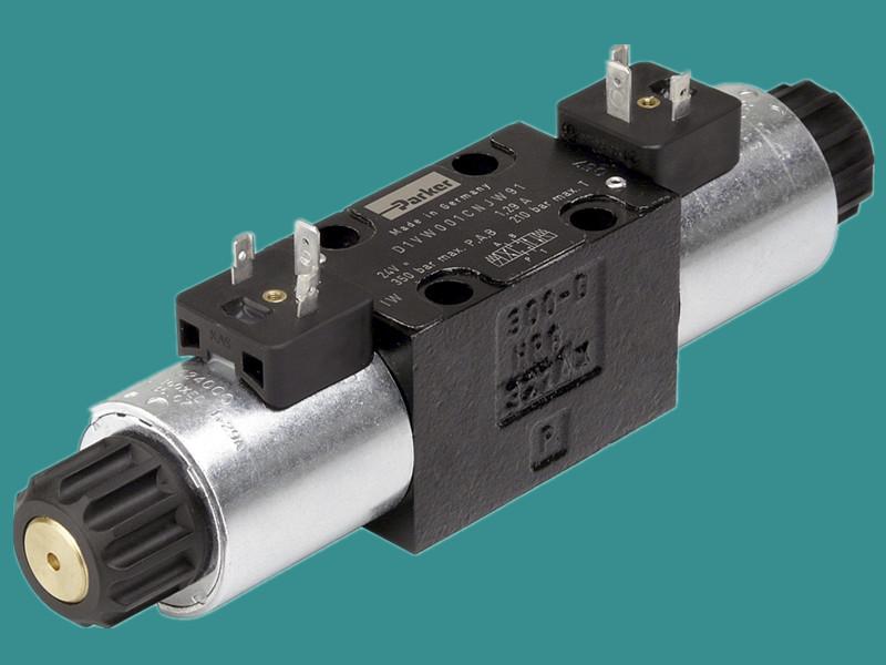 原装美国派克电磁方向阀换向阀PARKER液压阀方向控制阀