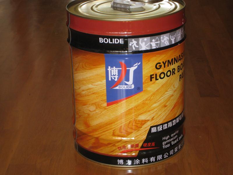 山东体育地板漆哪家好?青岛博力公司厂家直销,价格低质量好
